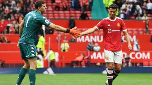 Psychospiel in der Premier League: Torwart Emiliano Martinez forderte Cristiano Ronaldo heraus   Goal.com