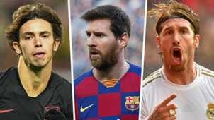 Joao Felix Lionel Messi Sergio Ramos 2019-20