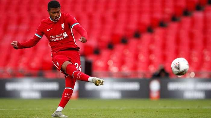 Rhian Brewster Liverpool 2020-21
