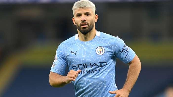 Sergio Aguero Manchester City 2020-21