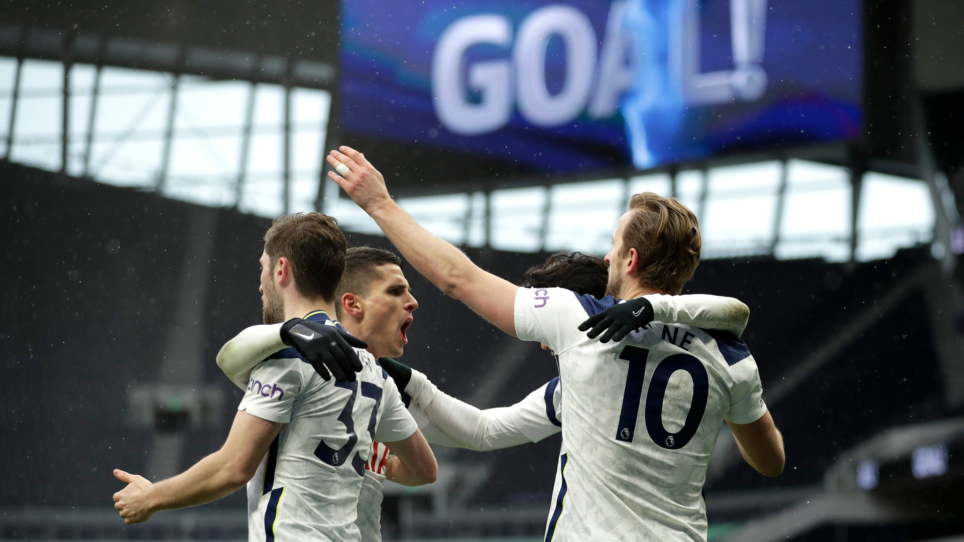 Kane moves up to joint second on all-time Tottenham scoring list after surprise injury return against West Brom