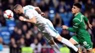 Karim Benzema Real Madrid Leganes Copa del Rey 24012018