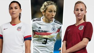 Women's World Cup 2019 kits