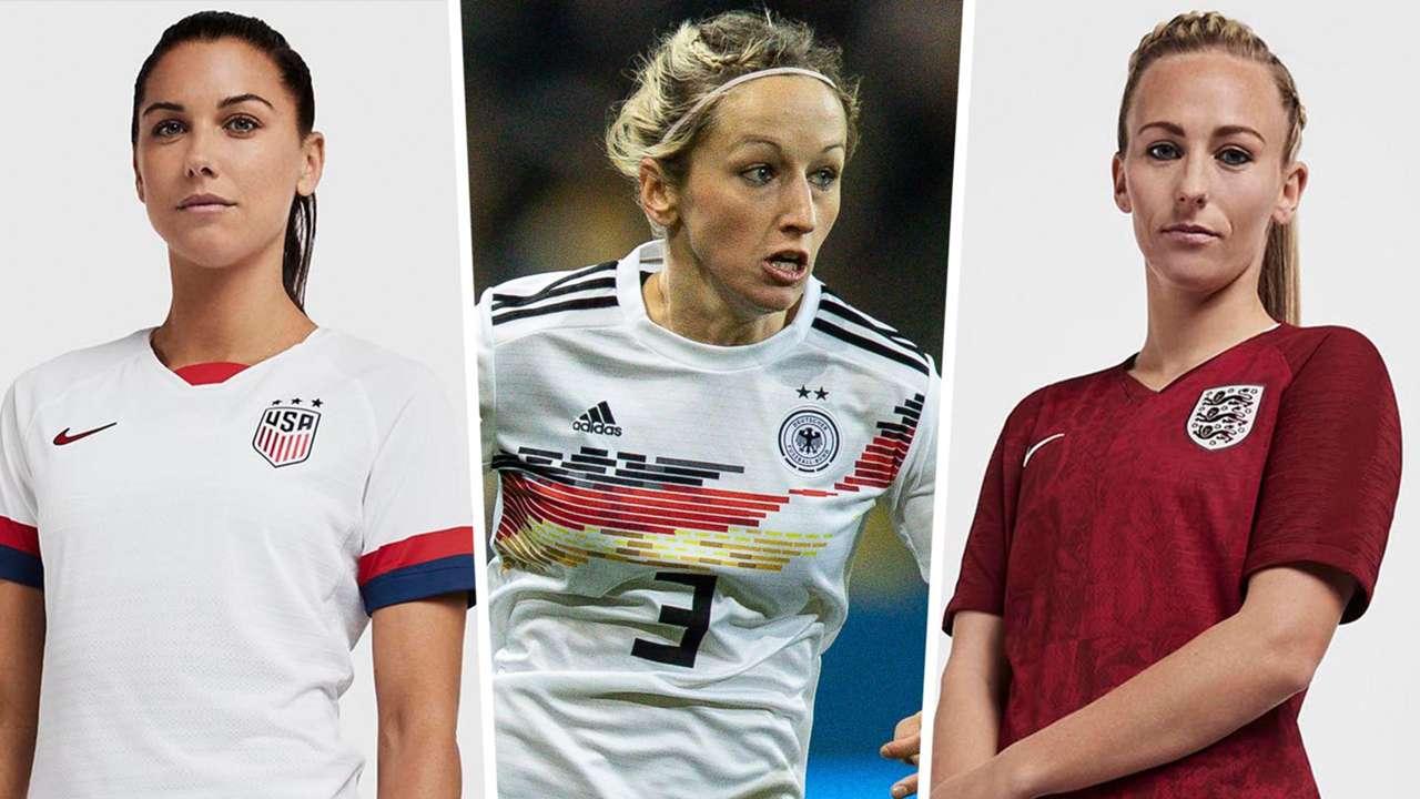 Women's World Cup 2019 kits