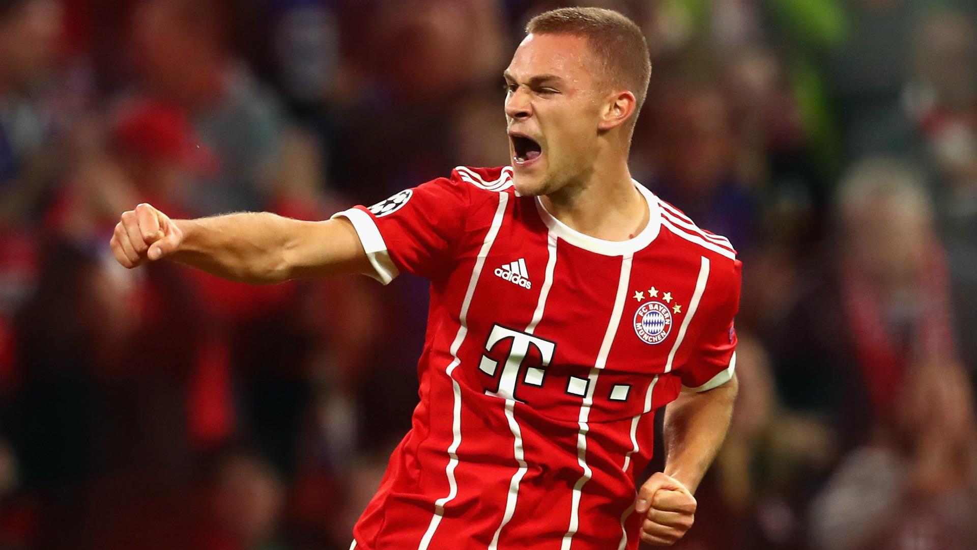 Joshua Kimmich Bayern Munich 2017
