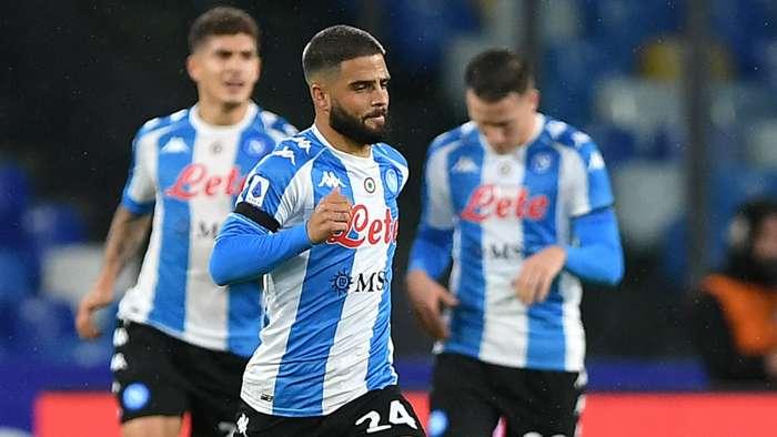 Insigne Napoli Roma Serie A