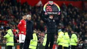 Andreas Pereira & José Mourinho - Manchester United v Tottenham Hotspur - Premier League 2019