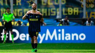 Antonio Candreva Inter AC Milan derby