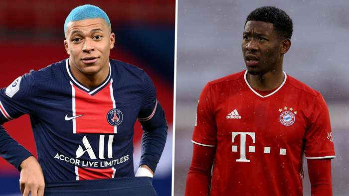 Kylian Mbappe David Alaba