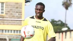 Wazito FC defender Austine Ochieng