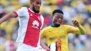 Tashreeq Morris, Ajax Cape Town & Motjeka Madisha, Mamelodi Sundowns, April 2018