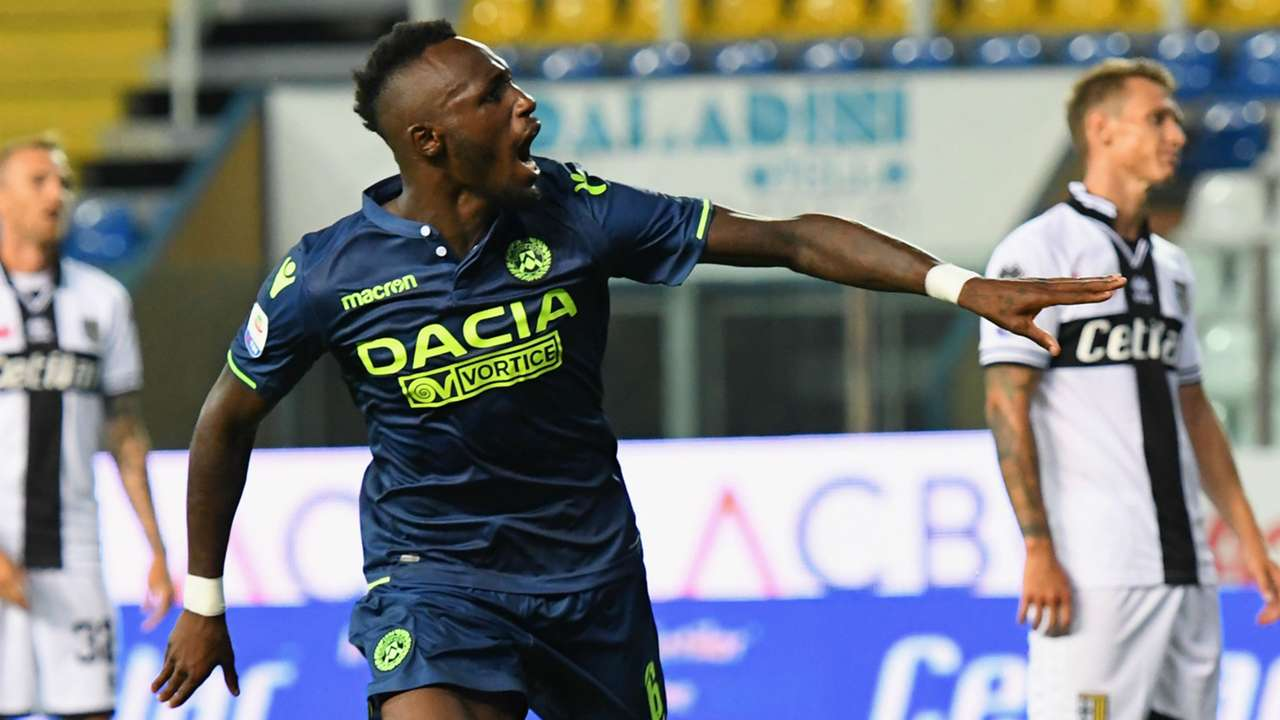 Fofana Parma Udinese Serie A
