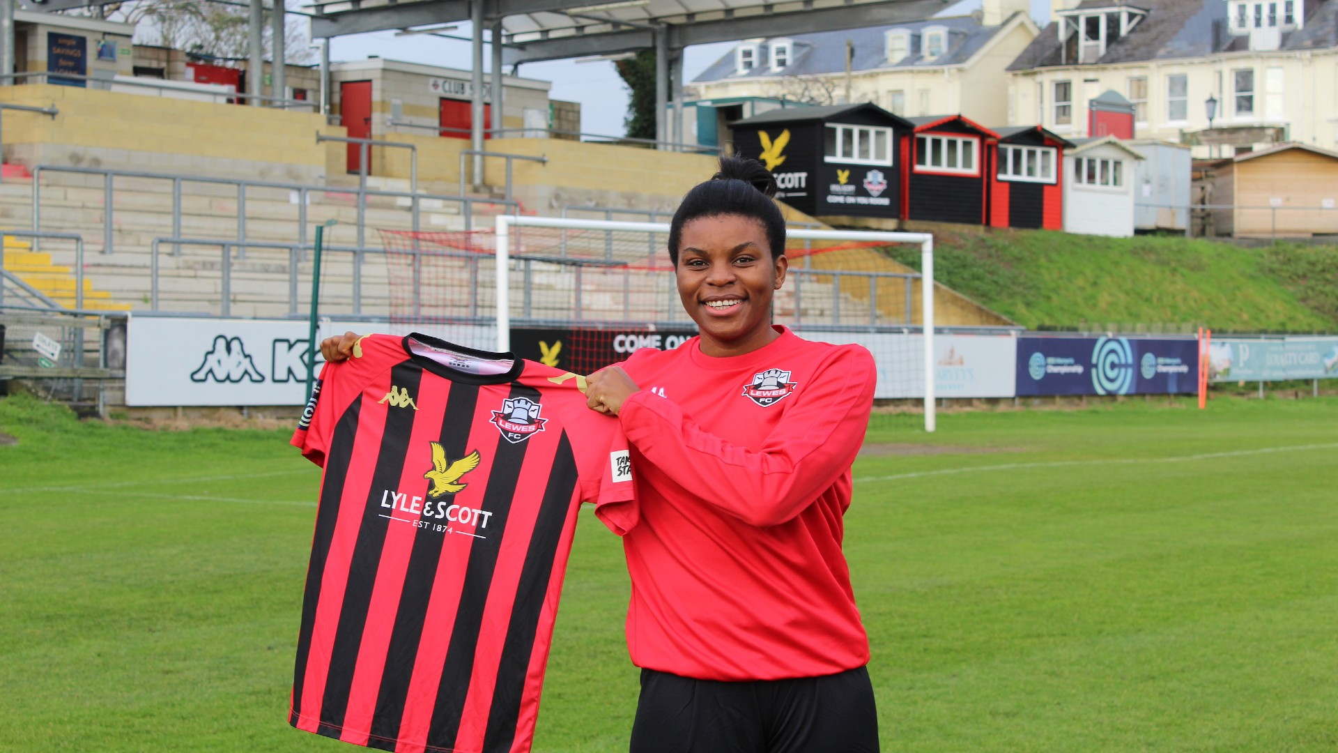 Ini Umotong: Lewes sign Nigeria striker from Vaxjo