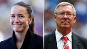 Casey Stoney Sir Alex Ferguson Man Utd