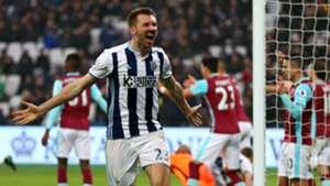 Gareth McAuley WBA Premier League 11022017
