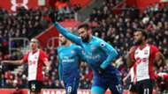 Olivier Giroud Arsenal Southampton Premier League