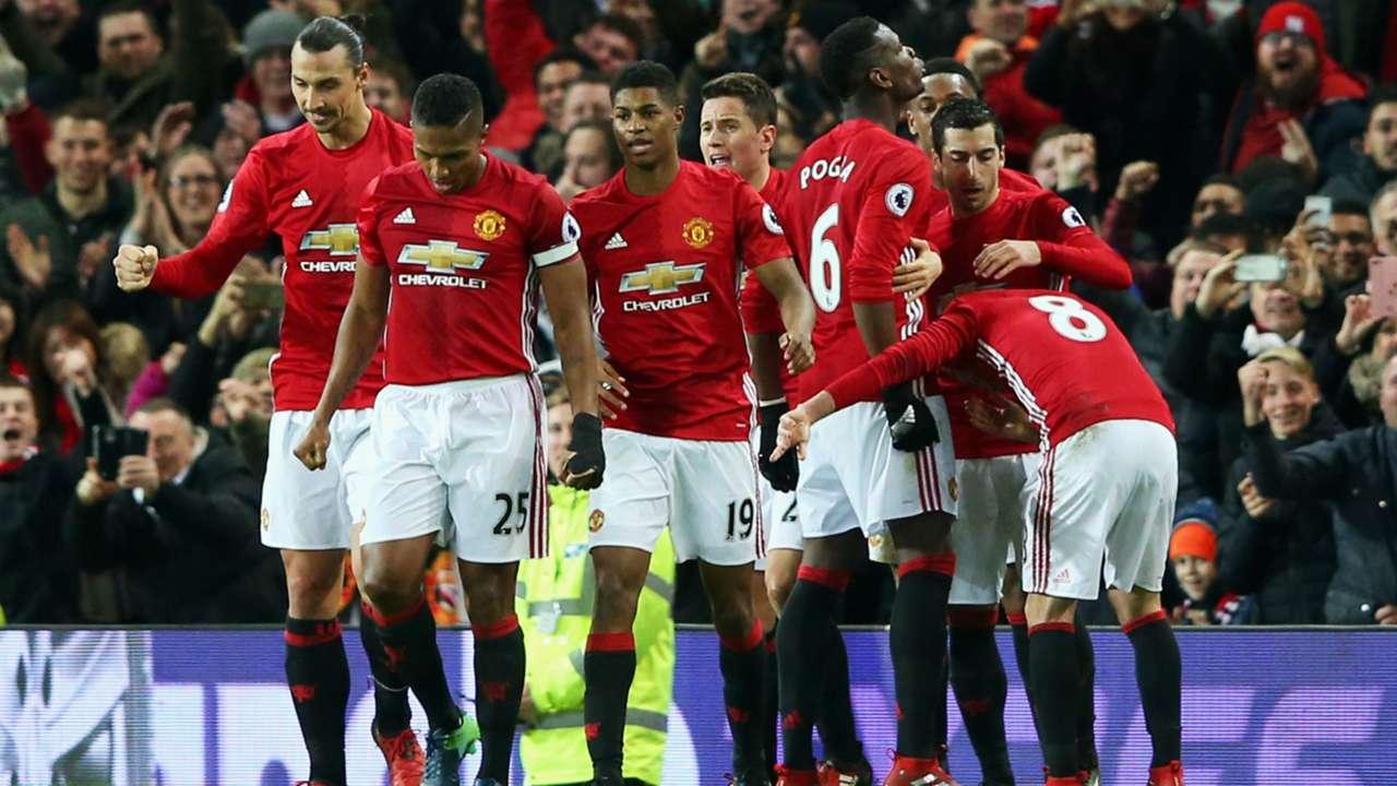 HD Manchester United celebrate