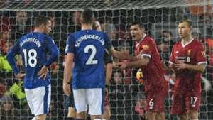 Dejan Lovren Liverpool Everton penalty