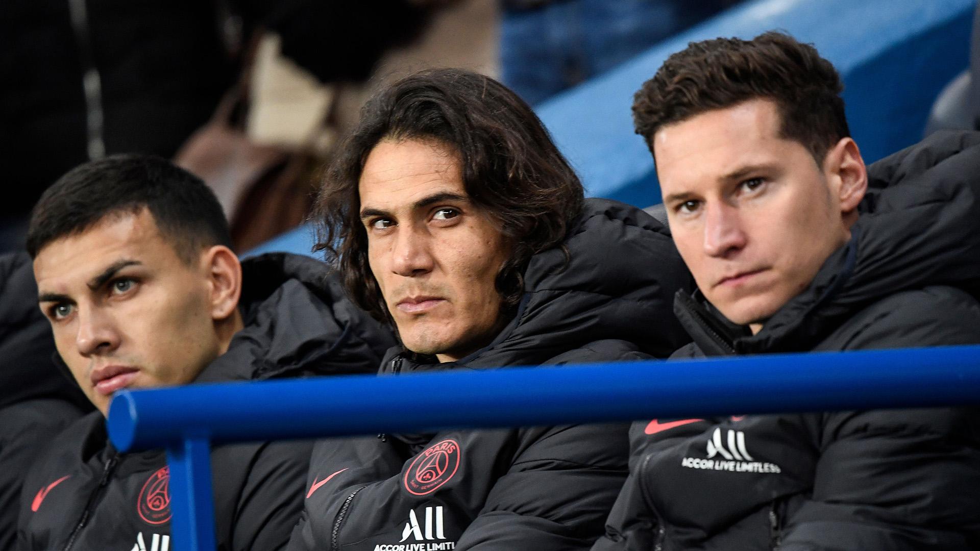 PSG reject €10m Cavani bid from Atletico Madrid as Tuchel refuses to let striker leave