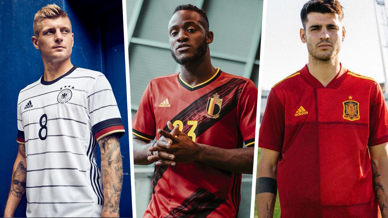 Jersey Euro 2020: 'Jubah Perang' Italia, Jerman, Spanyol ...