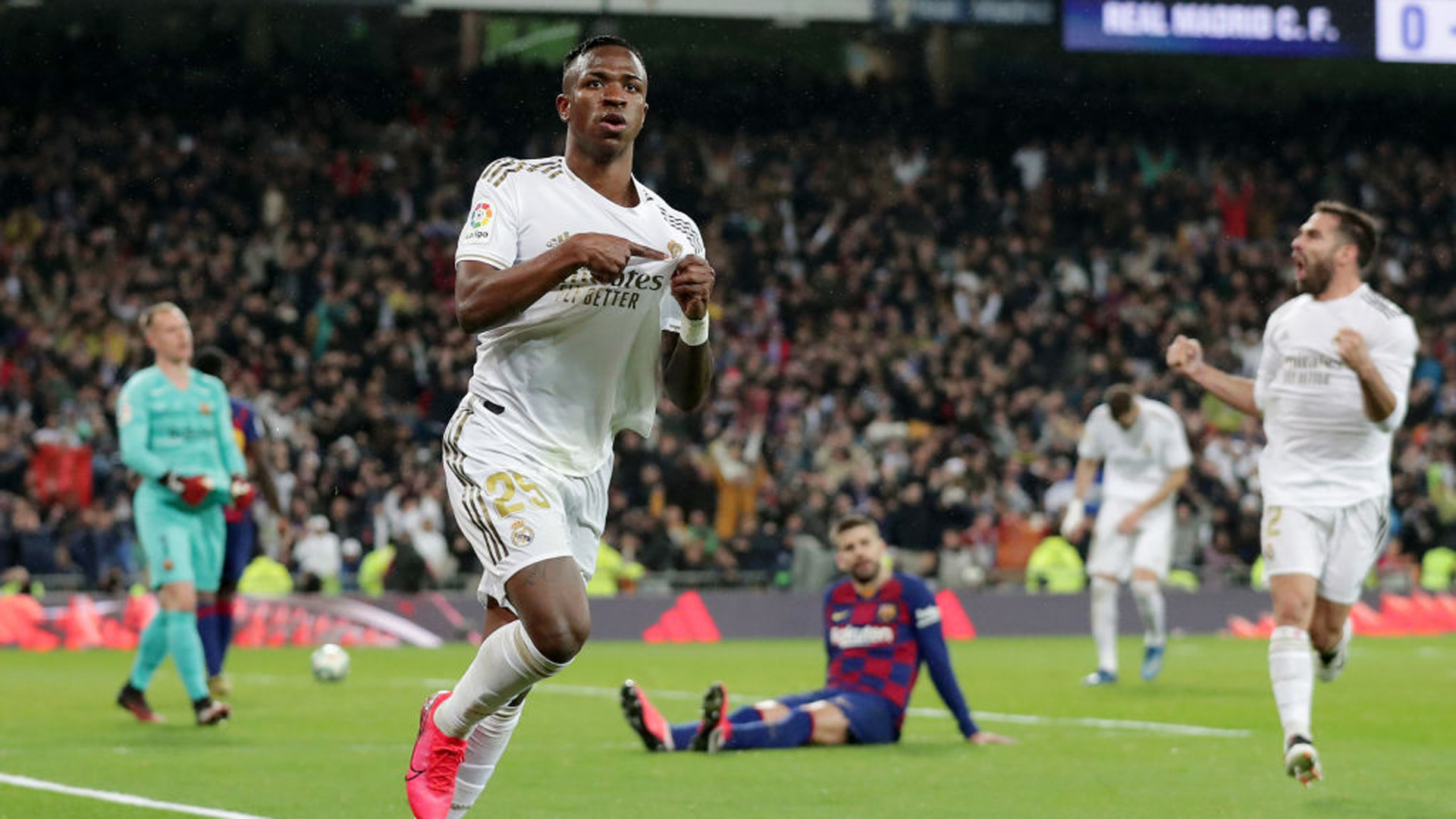 Real-Barça (2-0) - Madrid s'adjuge le Clasico et la place de leader