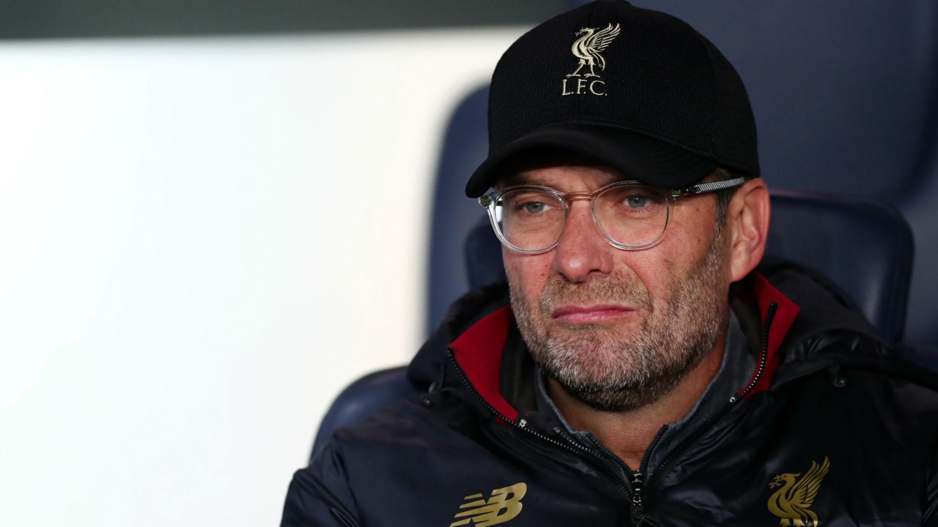 Jurgen Klopp PSG Liverpool UEFA Champions League 28112018