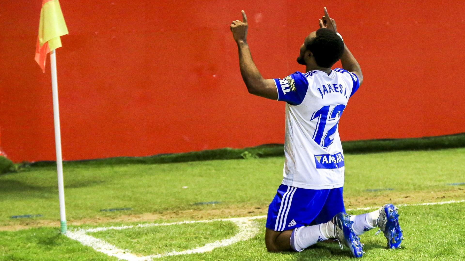 Igbekeme's Real Zaragoza down SD Ponferradina to seal play-offs berth