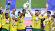 Norwich City Championship celebration 2020-21