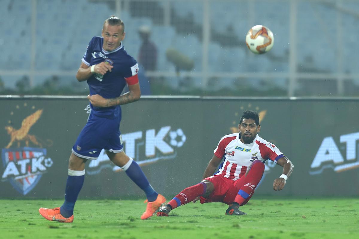 Roy Krishna and Lucian Goian ; Chennaiyin vs ATK