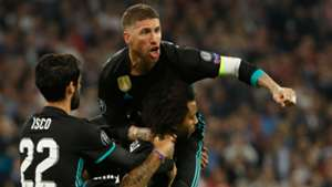 Marcelo Sergio Ramos Isco Real Madrid Bayern Munich Champions League