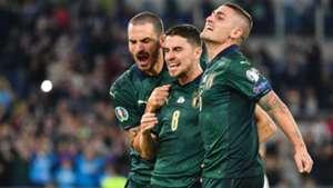Jorginho Italy Greece