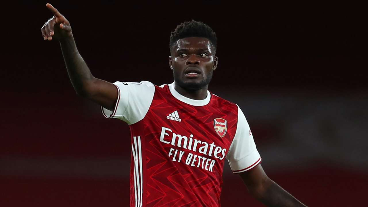 Thomas Partey Arsenal 2020