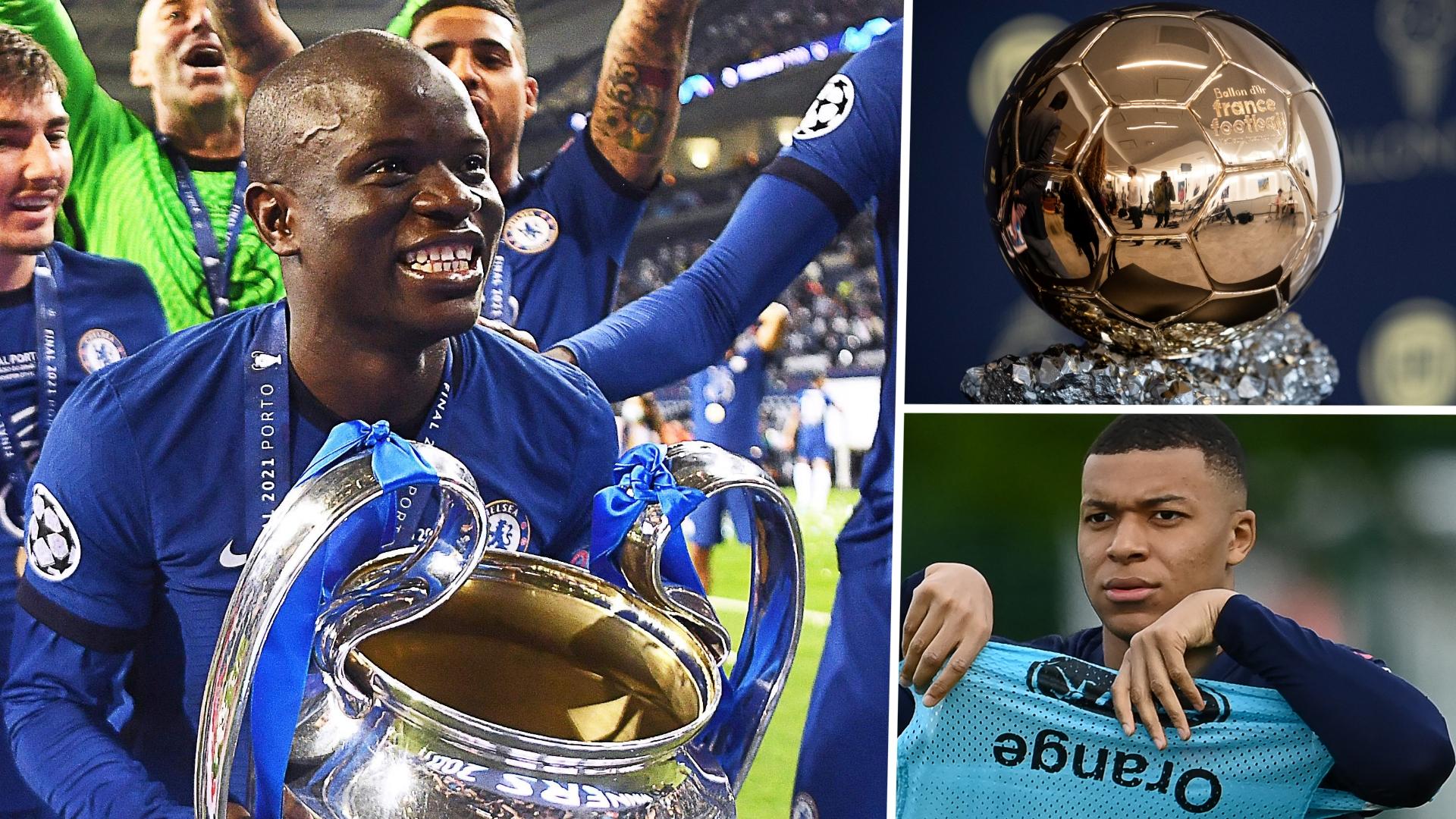 Ballon d'Or 2021 Power Rankings: Kante powers ahead after Champions League  masterclass | Goal.com