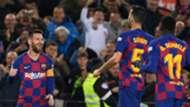 Messi Busquets Dembele Barcelona Celta LaLiga