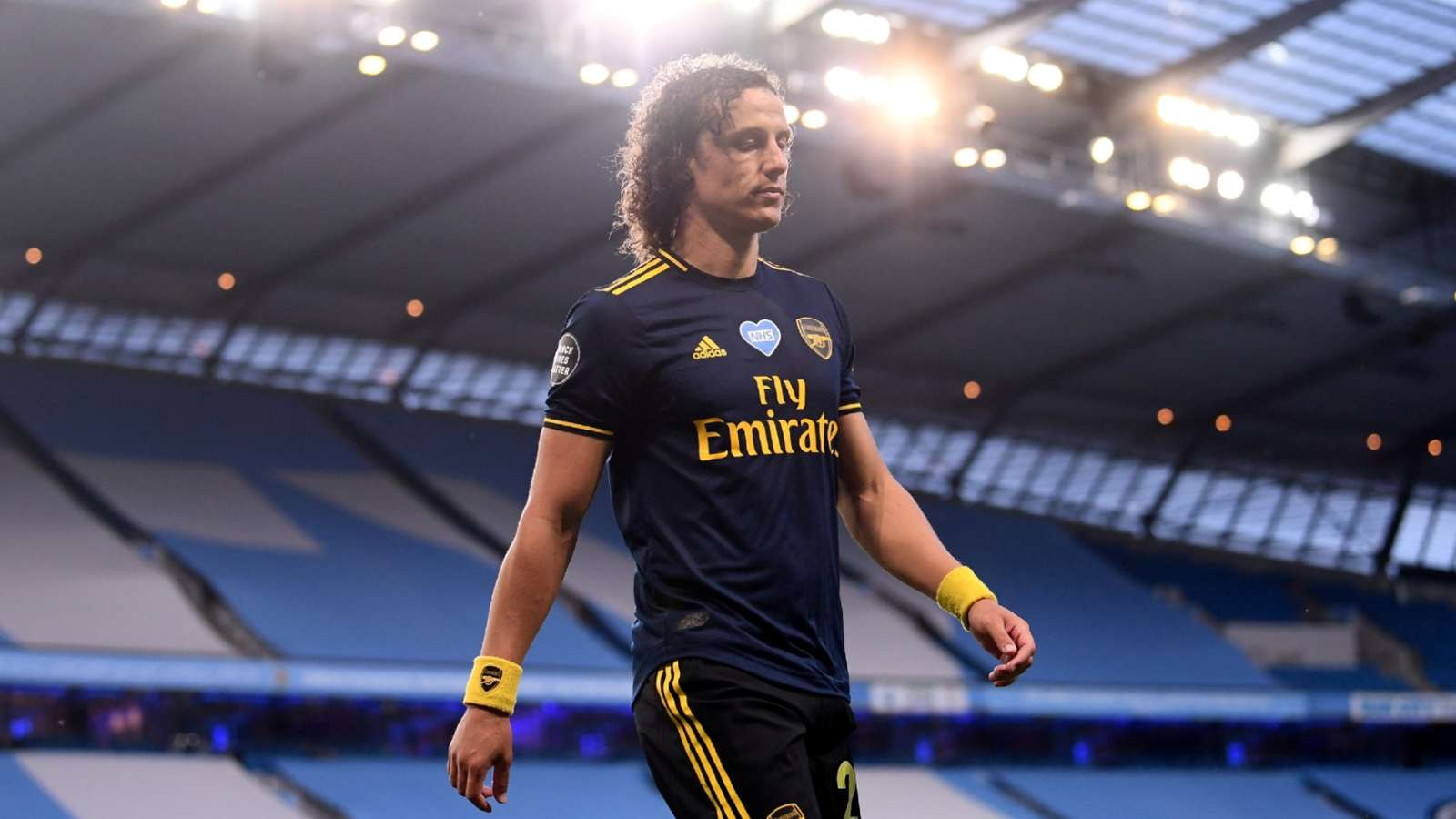 David Luiz sad Arsenal 2020