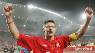 Steven Gerrard Liverpool 2004-05