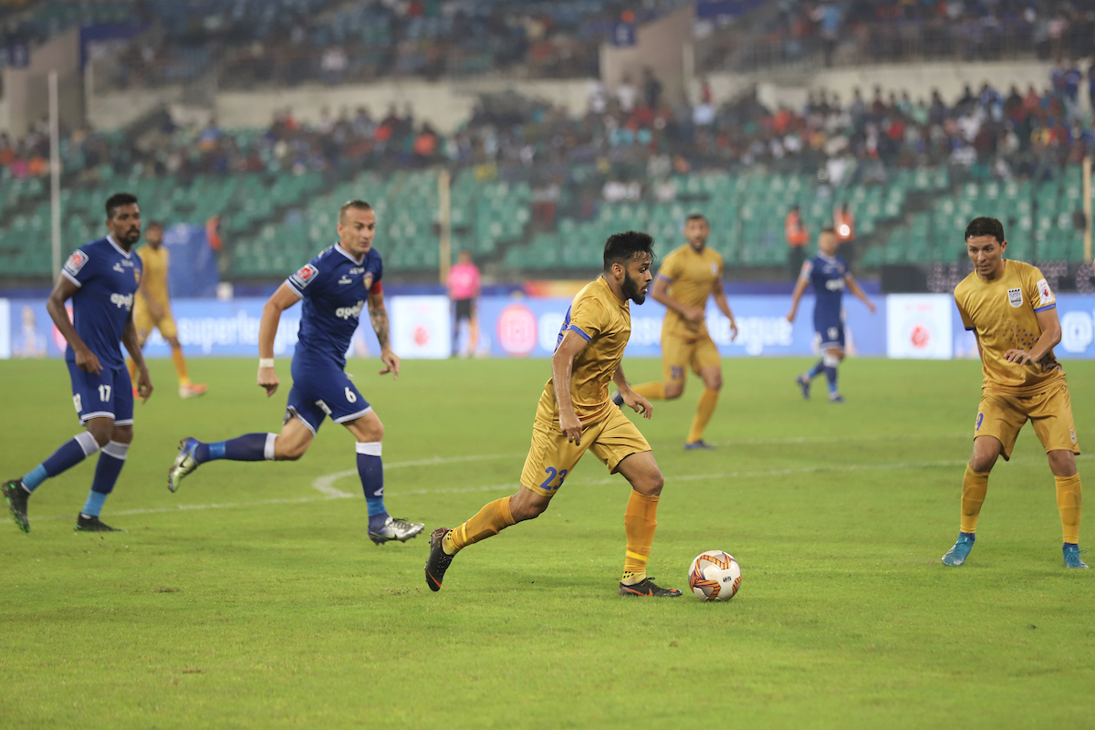Souvik Chakrabarti v Chennaiyin FC