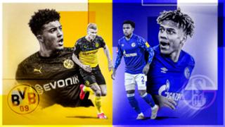 Borussia Dortmund Schalke GFX
