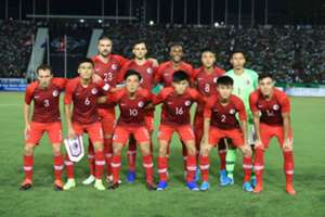 World cup qualifer, Hong Kong 1:1 draw with Cambodia.