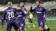 Riccardo Saponara celebrates his scoring Fiorentina Torino Serie A 27022017
