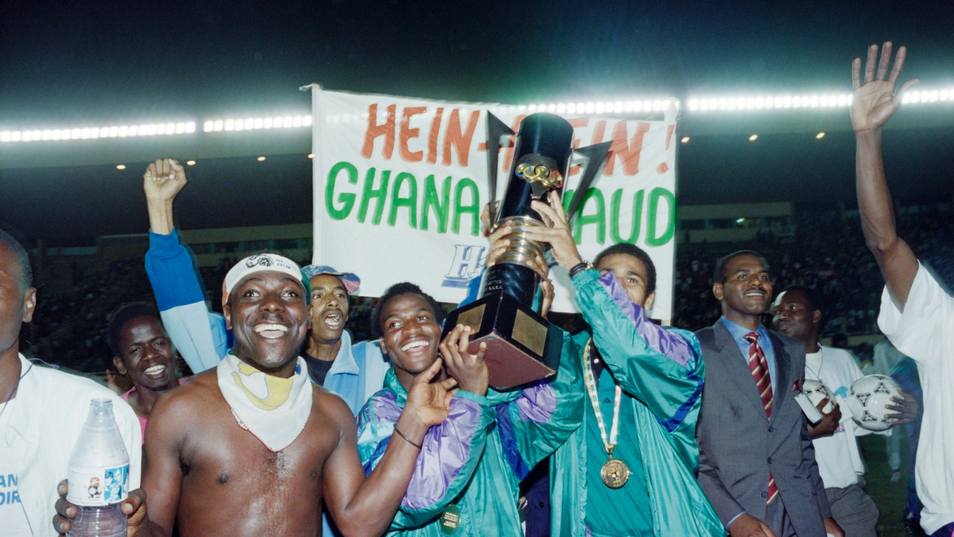 Relive Ivory Coast's 1992 Afcon final penalty shootout victory over Ghana
