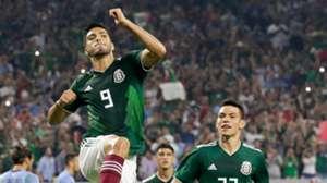 Raul Jimenez Hirving Lozano Mexico