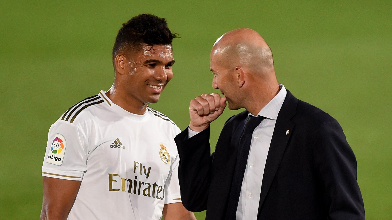Casemiro, Zidane