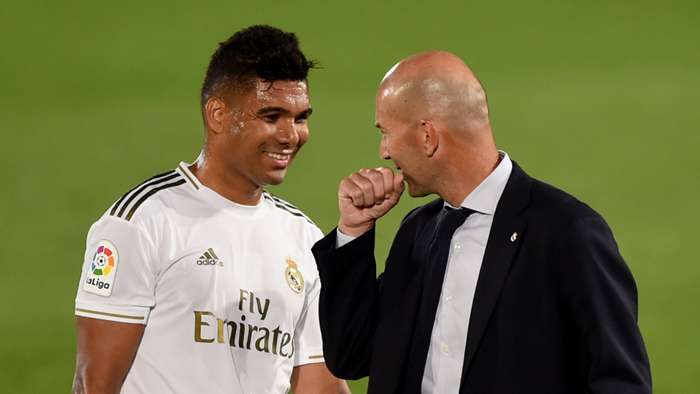 Casemiro/Zidane Real Madrid 2019-20