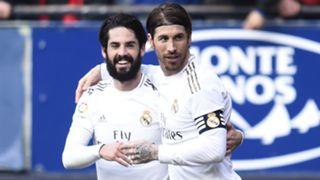 Isco Sergio Ramos Real Madrid Osasuna