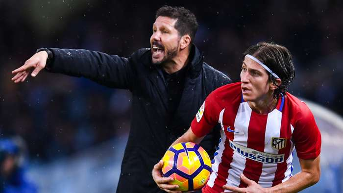Diego Simeone, Filipe Luis, Atletico Madrid