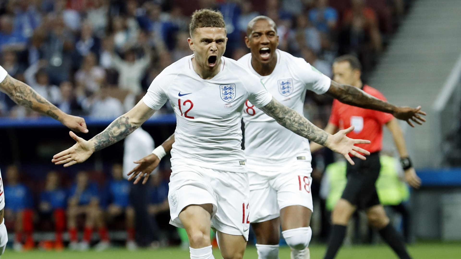 Kieran Trippier England Croatia World Cup 11072018