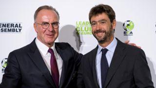 Karl-Heinz Rummenigge Andrea Agnelli