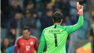 Alisson seleção Brasil Paraguai Copa América 28 06 2019
