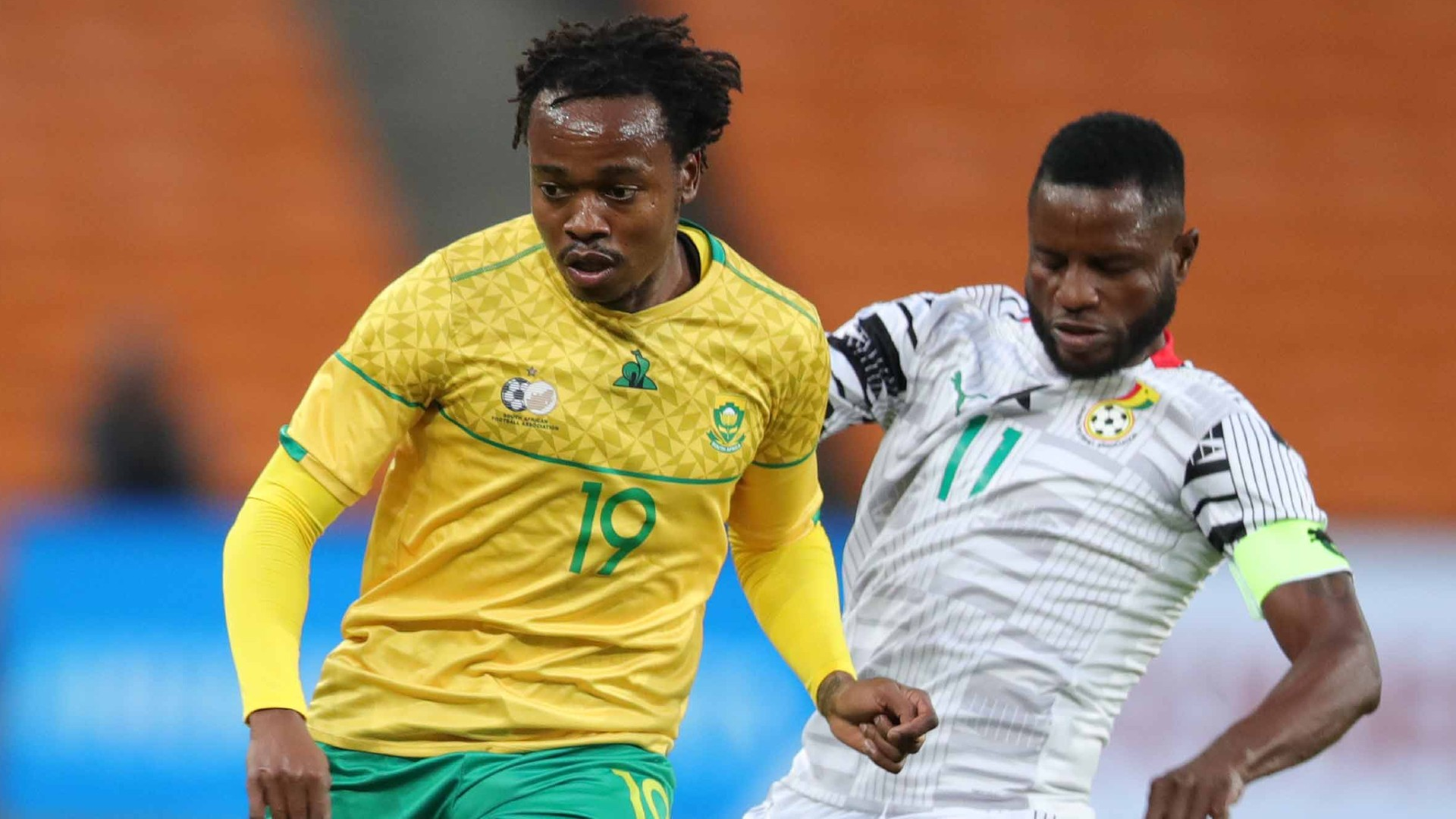 South Africa 1-1 Ghana: Tau rescues Bafana Bafana against Black Stars in  Afcon qualifier | Goal.com